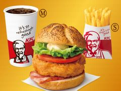 KFC プレミアムチキンフィレサンドセット